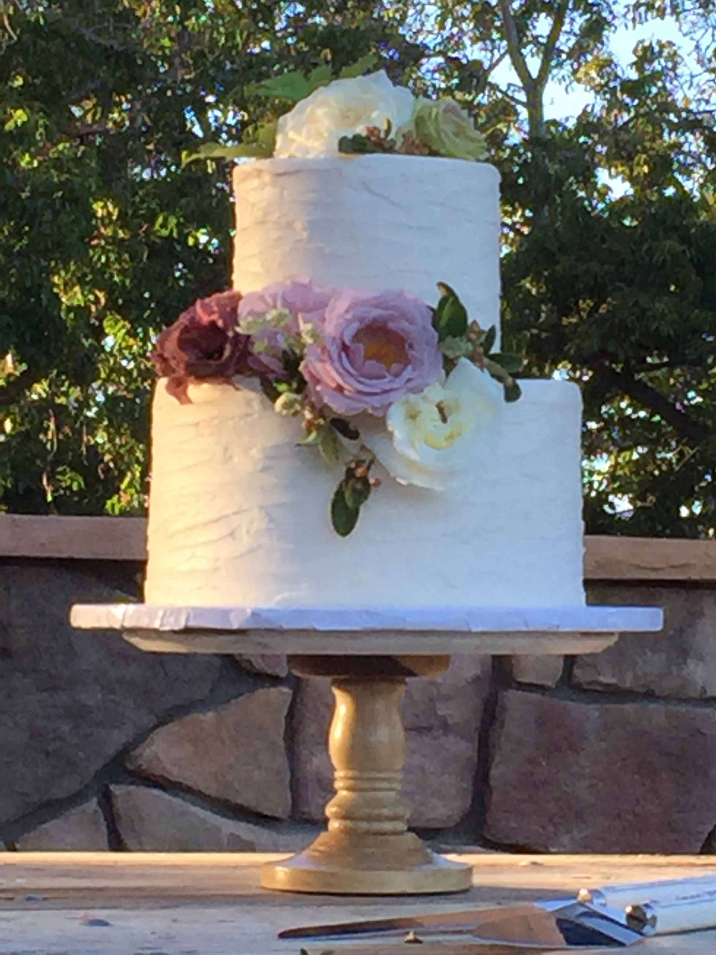 17.10.22 - Bittner Kunstt Wedding - Cake Close-up