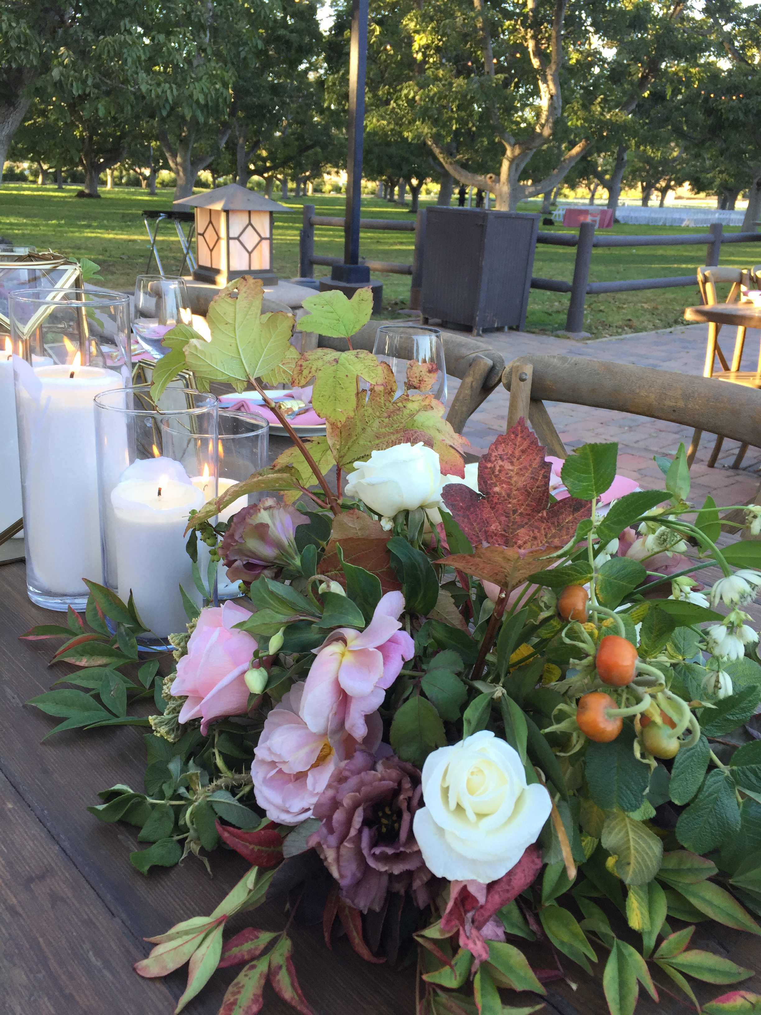 17.10.22 - Bittner Kunstt Wedding - Table Close-up