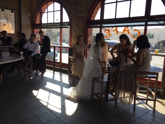 Mission Wedding Party - Starbucks 10.28.17
