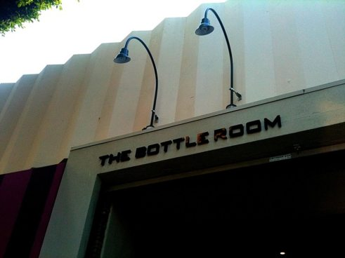 bottle room entrance