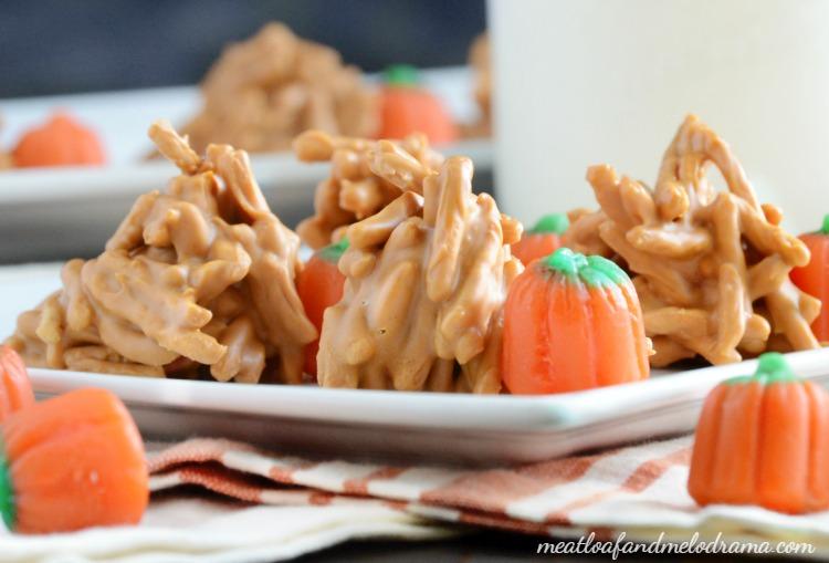 fall-butterscotch-haystacks-candy-treats-pumpkins