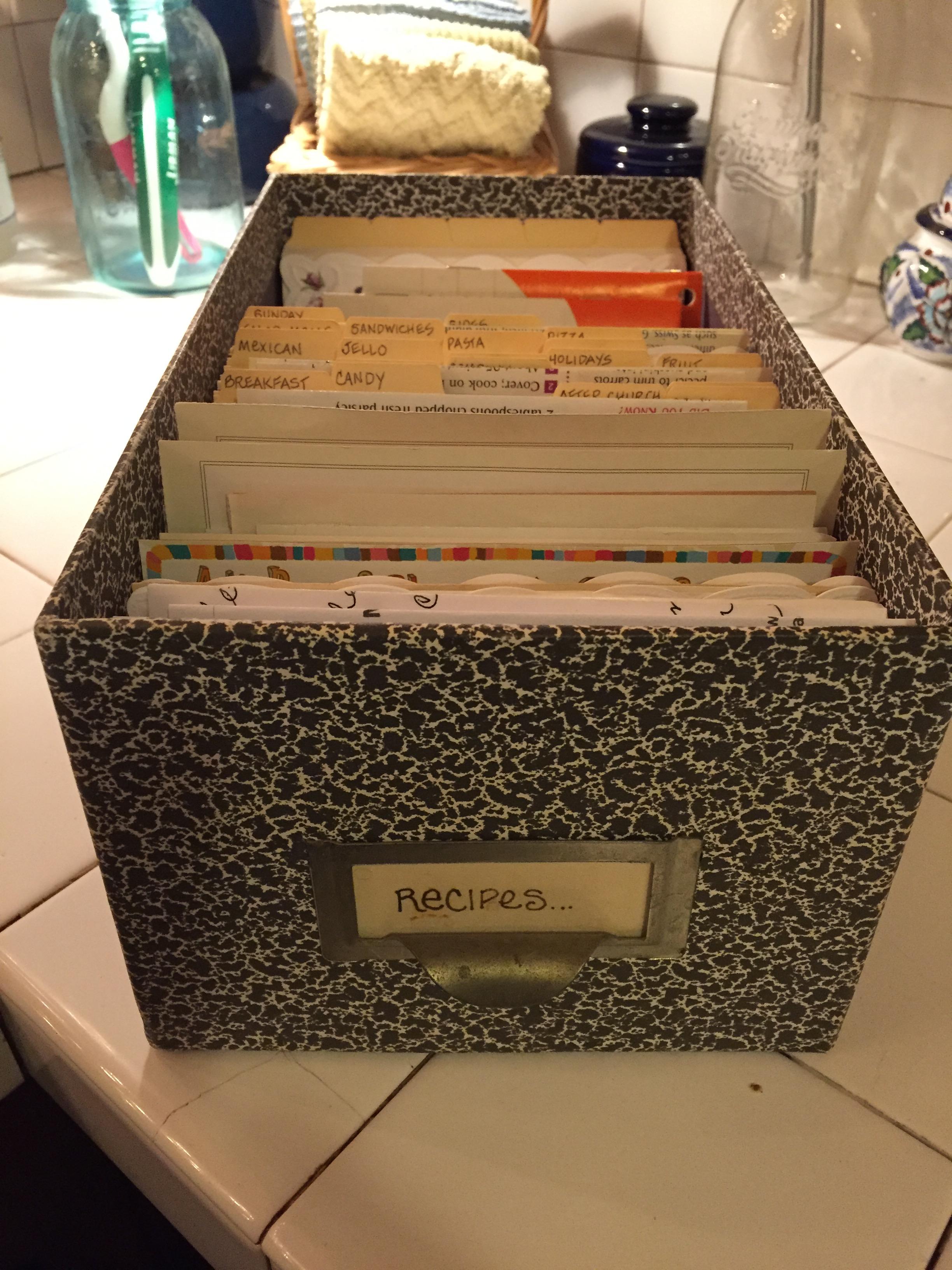 Recipes Box