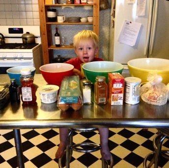 2018-1-5 Ollie Baking Muffins 1