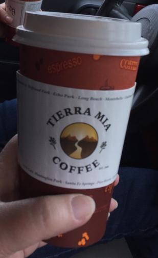 Tierra Mia Horchata Latte
