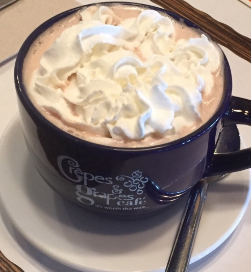 hot cocoa close up