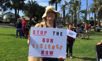 2018-3-24 AM March for Our Lives, Huntington Beach 6 - Cindi