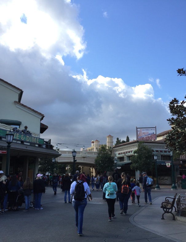 Disney CA Adventure Entrance - 2018-2