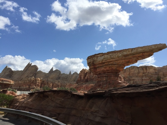 Disney Cars Land Scenery - 2018-2
