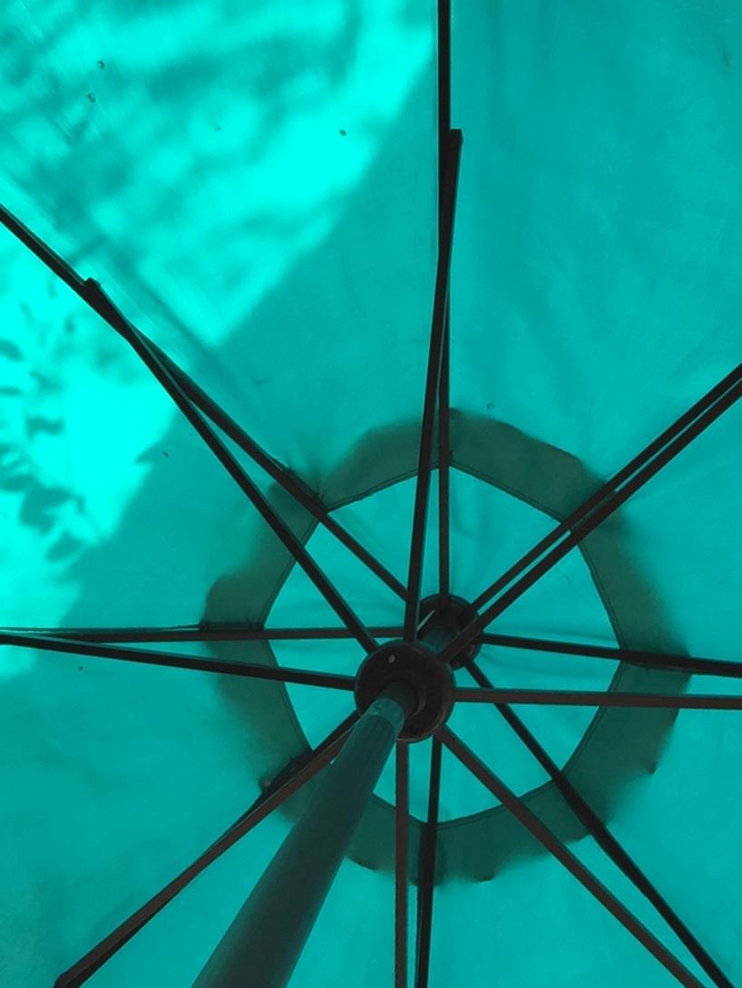 The Filling Station Blue Umbrella - Orange 2018-3-9