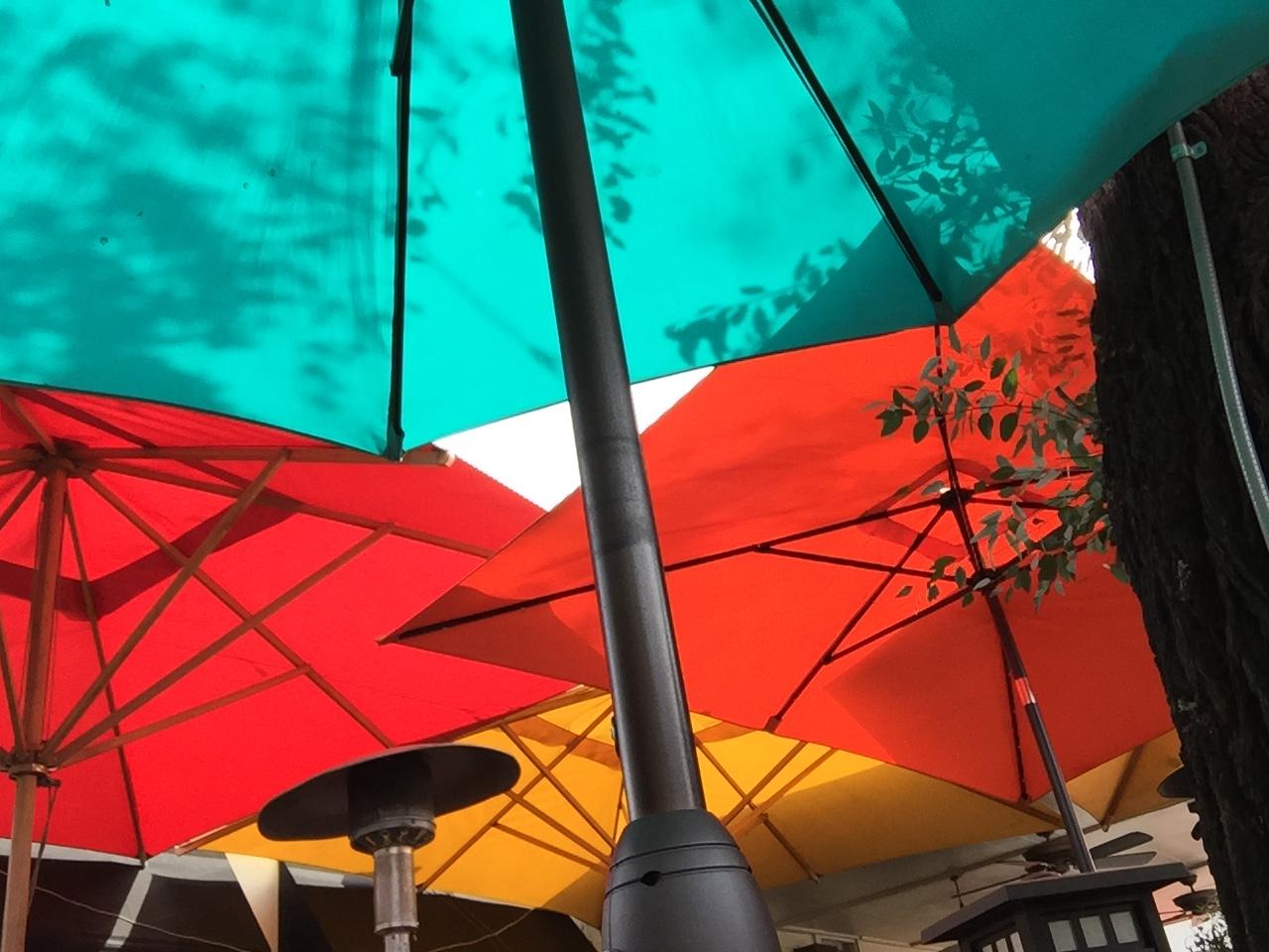 The Filling Station Color Umbrellas - Orange 2018-3-9