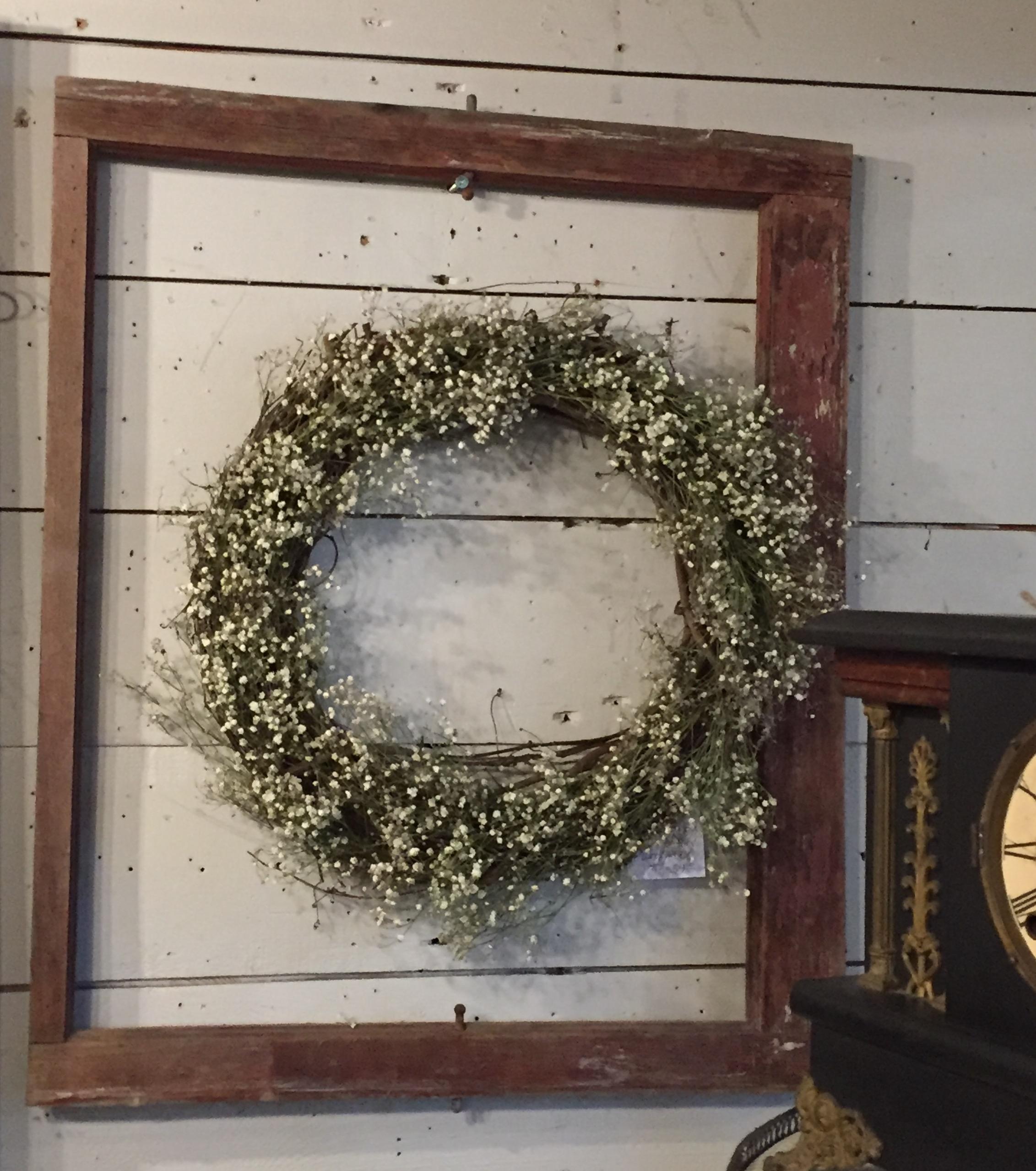 Wreath, Frame, Old Clock - Orange 2018-3-9