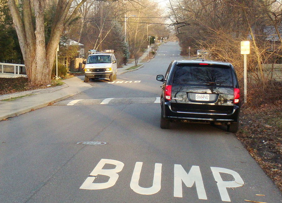 1 speed bump