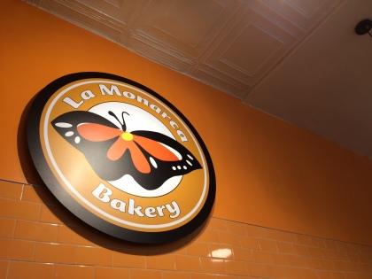 La Monarca Bakery Sign