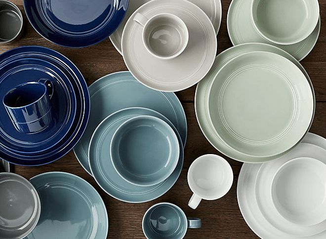 Crate & Barrel dishes