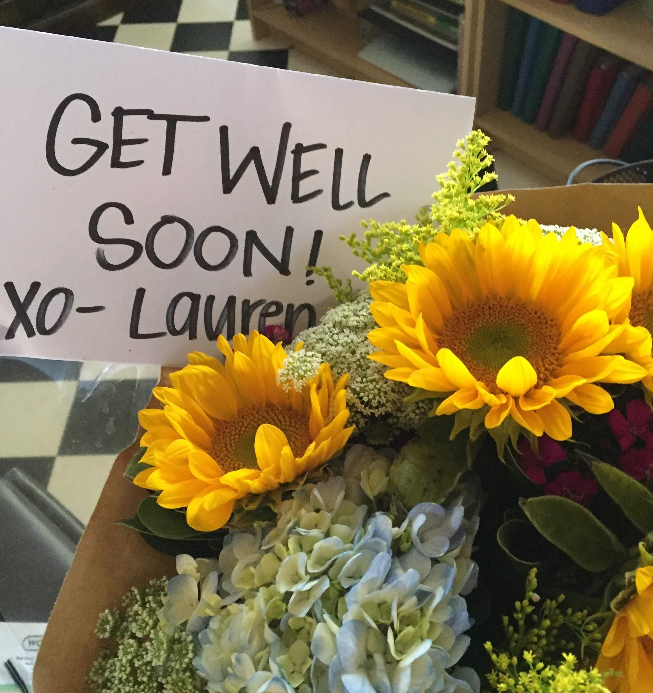 Ankle Get Well Flowers