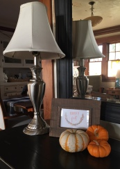 Entry Table Pumpkins - Welcome Fall 2018